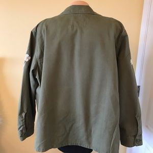 Levi's Jackets & Coats - Levi's Women's Floral Embroidered Shirt Jacket XL